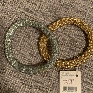LILY and LAURA set of 2 bracelets NEW